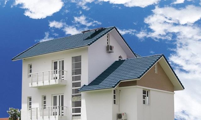 Bước 1: Đo kích thước mái nhà