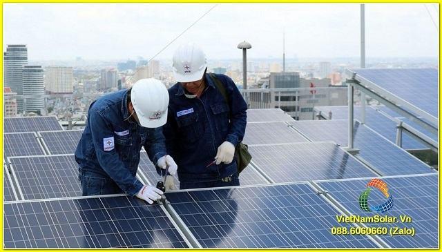 Việt Nam Solar với đội ngũ kỹ sư lành nghề và được đào tạo bài bản