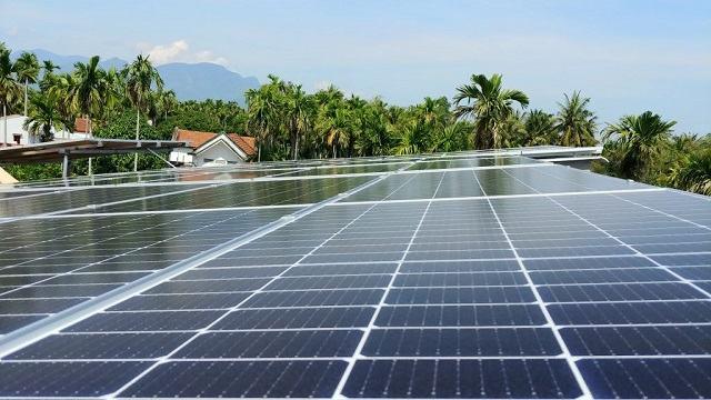 Ảnh 1: Hệ thống năng lượng của công ty điện mặt trời Quảng trị