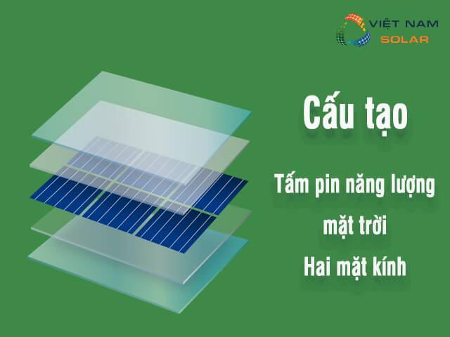 Pin mặt trời hai mặt kính là gì